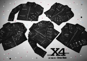 X4  「LIVE TOUR 2017 -Xross Mate-」